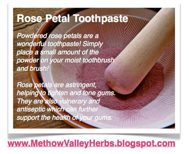 rose petal tpaste