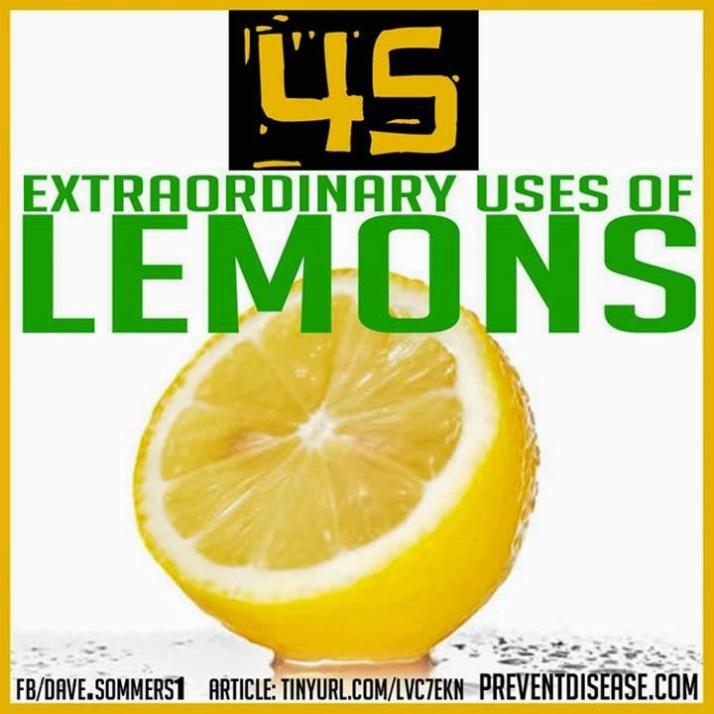 uses-for-lemons
